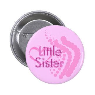 Botón de Pinback de la pequeña hermana Pin Redondo De 2 Pulgadas