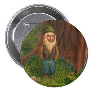 Botón de Pinback del duende de la secoya Pins