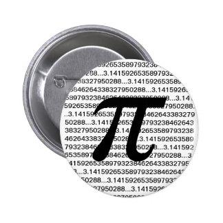 Botón de Pinback del friki de la matemáticas del p Pin