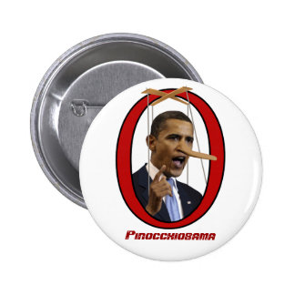 Botón de Pinocchiobama Pins