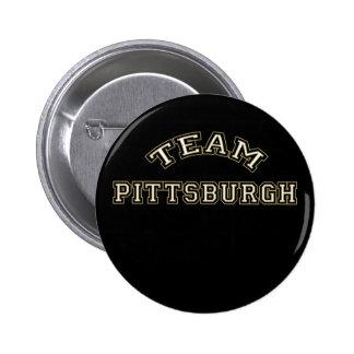 Botón de Pittsburgh del equipo Pins