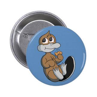 Botón de Platypi de la galleta Pin