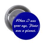 Botón de Plutón Pins