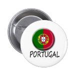 Botón de Portugal Pins