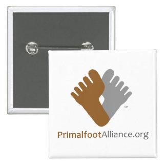 Botón de Primalfoot Alliance Logo/URL Pin
