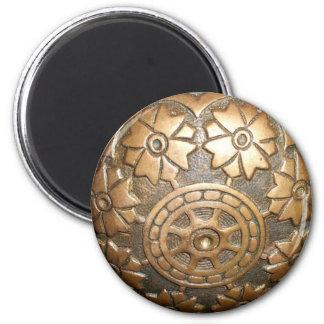 Botón de puerta imán redondo 5 cm