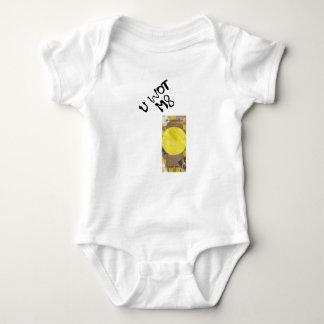 Botón de puerta ningún fondo Babygro Body Para Bebé