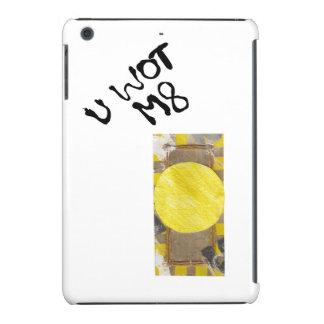 Botón de puerta ninguna caja del Yo-Cojín del Fundas De iPad Mini Retina
