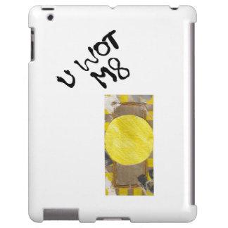 Botón de puerta ninguna parte posterior del funda para iPad