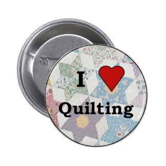 Botón de Quilters Pin Redondo De 2 Pulgadas