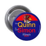 Botón de QUINN SIMON Illinois Pin