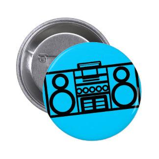 Botón de Radiostar Pins