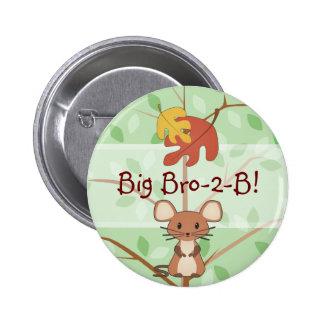 Botón de ratón del arbolado pin