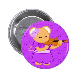 Botón de ratón del violinista