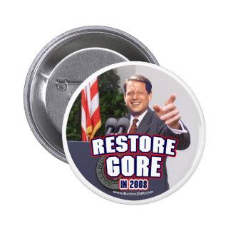 Botón de Re-store de Gore Pin