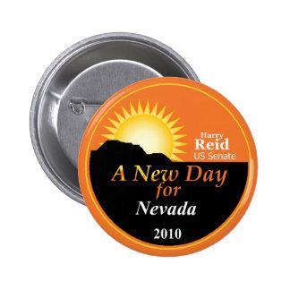 Botón de REID Nevada 2010 Pin