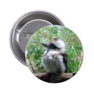Botón de risa de Kookaburra Pin