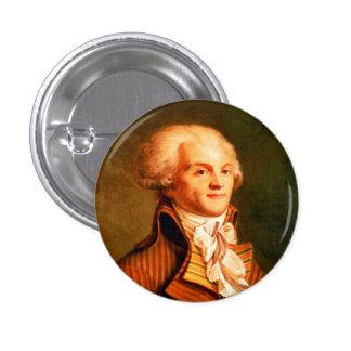 Botón de Robespierre Pin Redondo De 1 Pulgada