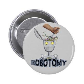 Botón de ROBOTOMY Pin Redondo De 2 Pulgadas