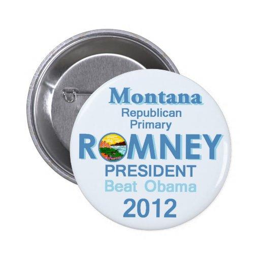 Botón de Romney MONTANA