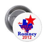 Botón de Romney TEJAS Pin
