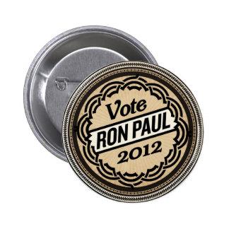 Botón de Ron Paul 2012