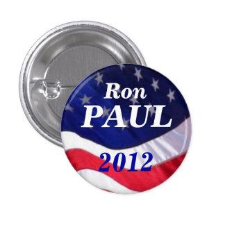 Botón de Ron Paul 2012 Pin Redondo De 1 Pulgada