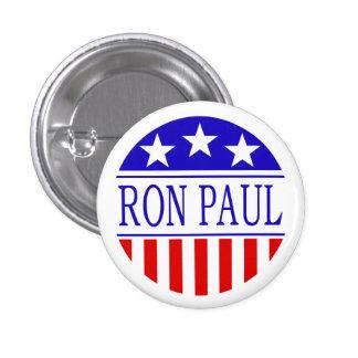 Botón de Ron Paul Pin Redondo De 1 Pulgada