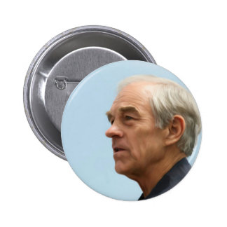 Botón de Ron Paul Pin Redondo De 2 Pulgadas