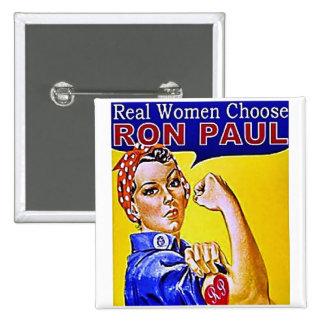 Botón de Ron POaul de las mujeres 4