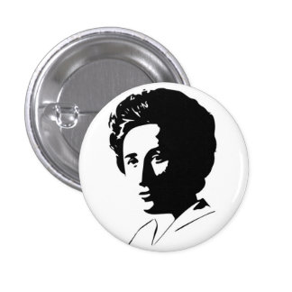 Botón de Rosa Luxemburg