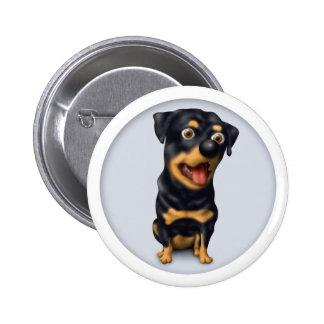 Botón de Rottweiler Pins