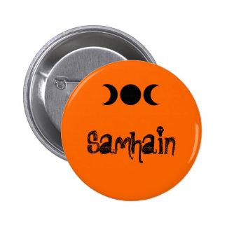 Botón de Samhain Pin Redondo De 2 Pulgadas