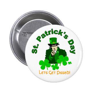 Botón de Sammy del irlandés Pin