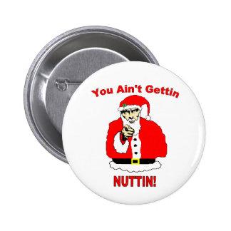 Botón de Sammy Santa Pin Redondo De 2 Pulgadas