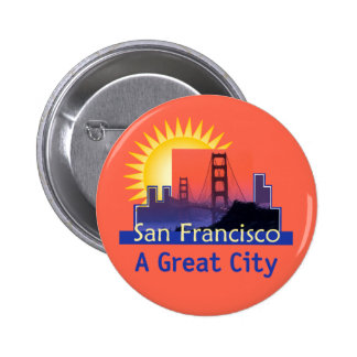Botón de SAN FRANCISCO Pins