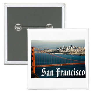 Botón de San Francisco Pin