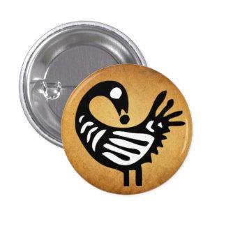 Botón de Sankofa Pin Redondo De 1 Pulgada