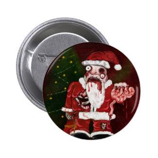 Botón de Santa del zombi
