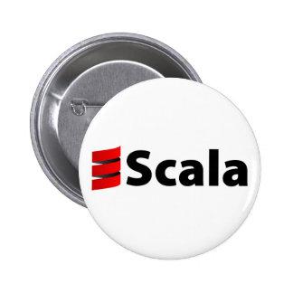 Botón de Scala, logotipo de Scala Pin