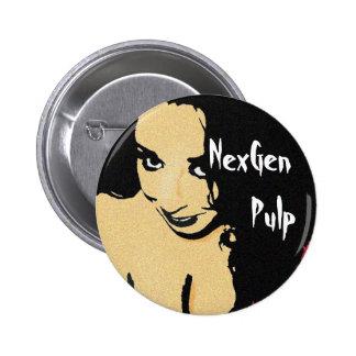 Botón de Scarlett de la pulpa de NexGen Pins