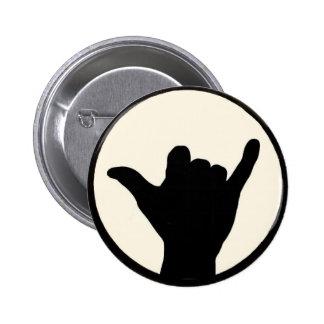Botón de Shaka Pin Redondo De 2 Pulgadas