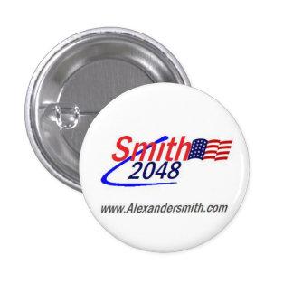 Botón de Smith 2048 Pin Redondo De 1 Pulgada