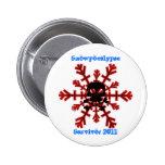 Botón de Snowpocalypse 2011 Pin