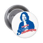 Botón de Sonia Sotomayor Pin Redondo De 2 Pulgadas