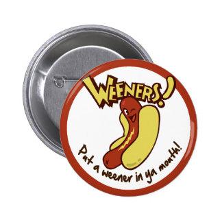 Botón de Sr. Winky Pin Redondo De 2 Pulgadas