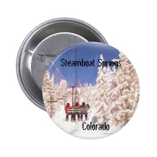 Botón de Steamboat Springs Pins
