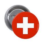 Botón de Suiza Pin