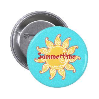 Botón de Sun de la diversión Pin Redondo De 2 Pulgadas