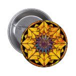 Botón de Sun del girasol Pin